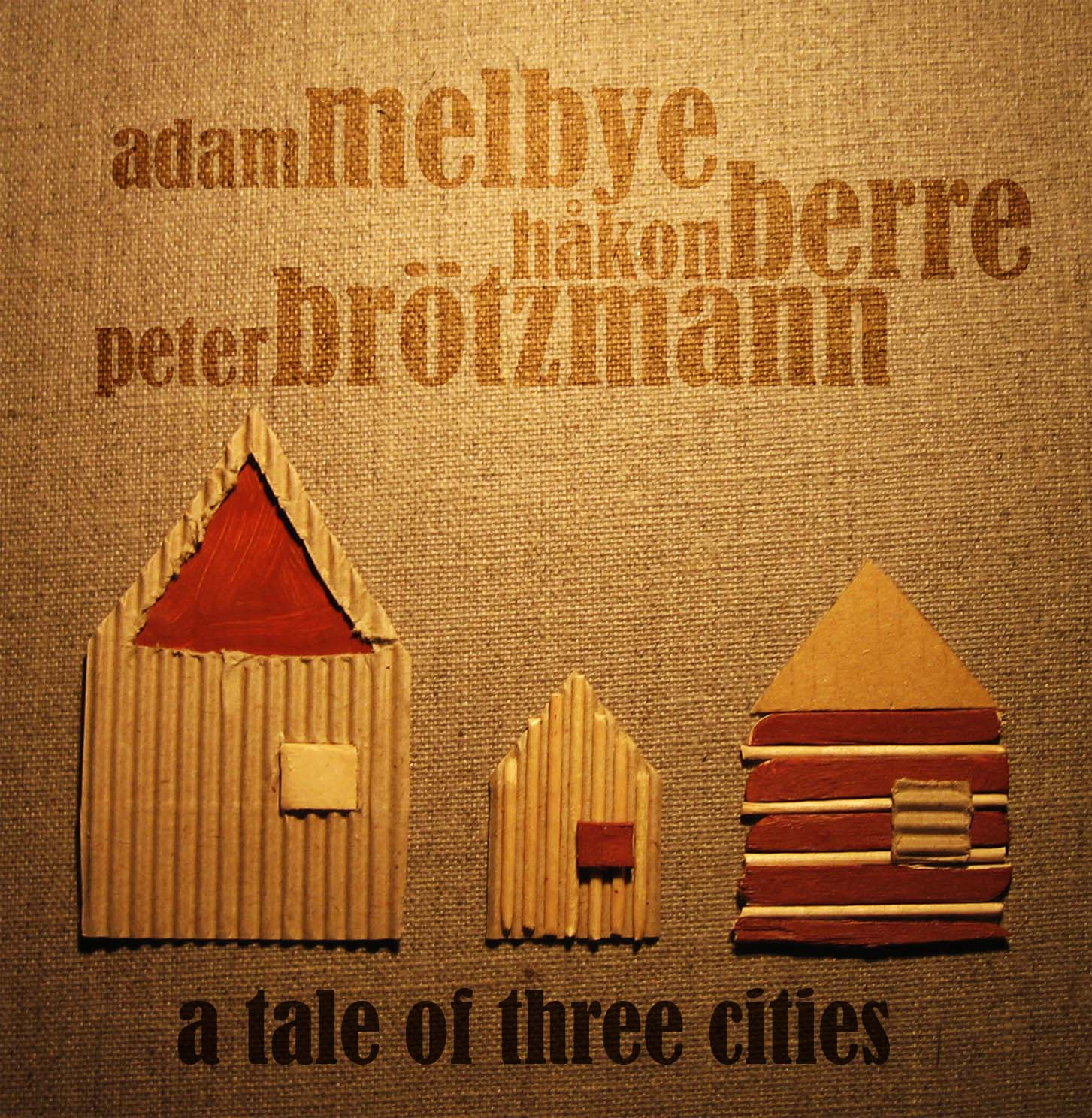 "Featured recording ""Melbye/Berre/Brötzmann Trio -..."""